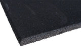 Rubber flooring full black