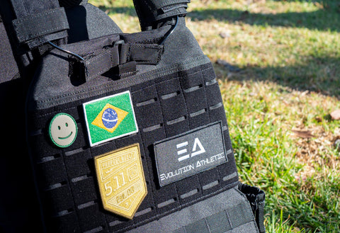 Brazilian Flag Velcro Patch