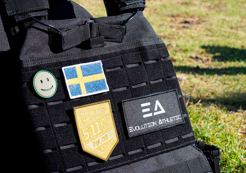 Swedish Flag Velcro Patch