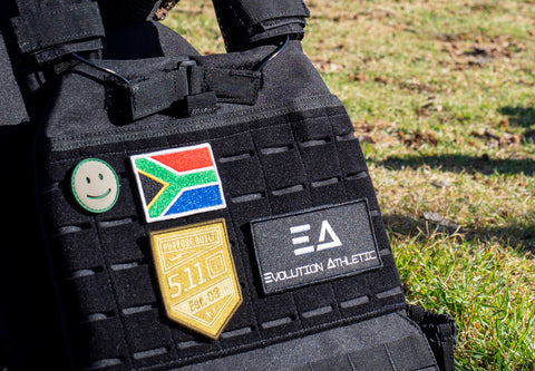 South African Flag Velcro Patch