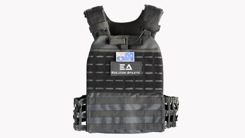 Tac Weight vest and 5kg Plates