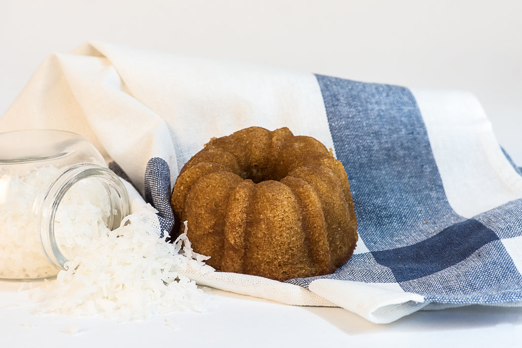 5 oz Coconut Rum Cake - Pack of 3