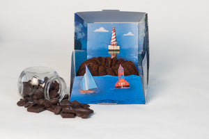 Lighthouse Rum Cakes 16oz - Case of 8