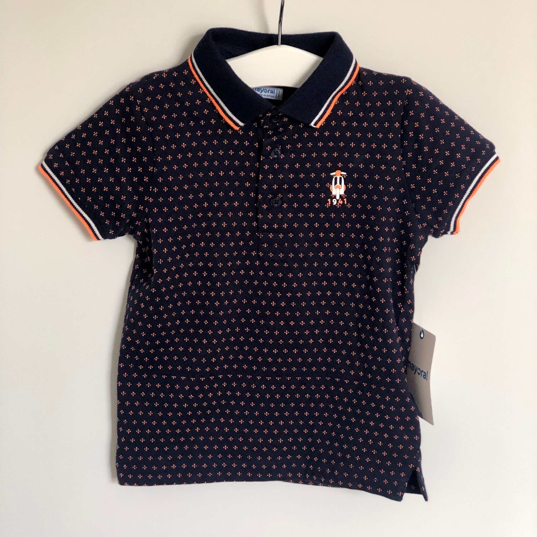 Boys Designer Clothing Age 6 Grey Ralph Lauren Polo Shirt NEW WITH TAGS