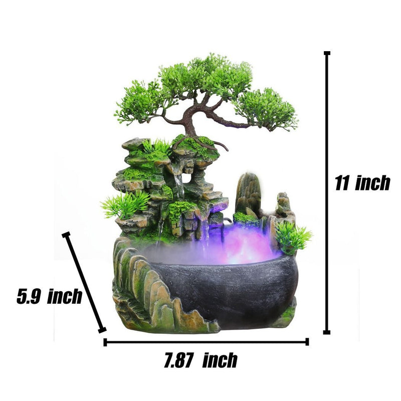 Resin Feng Shui Waterfall(OUT OF STOCK)