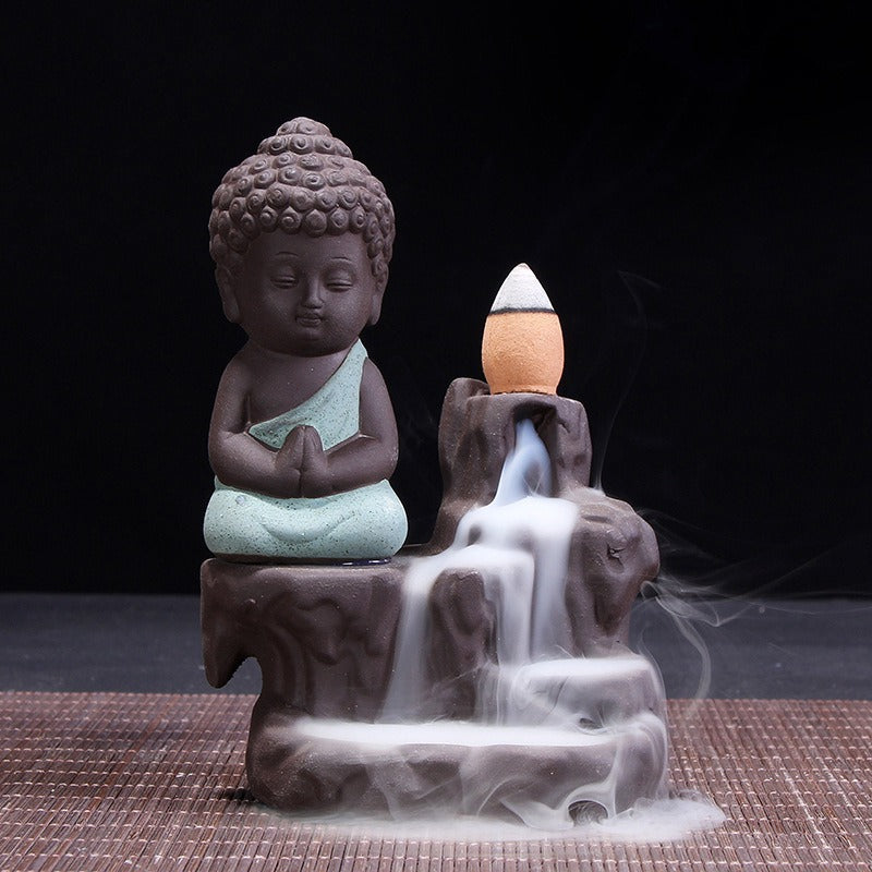 ZENMONK BACKFLOW INCENSE BURNER