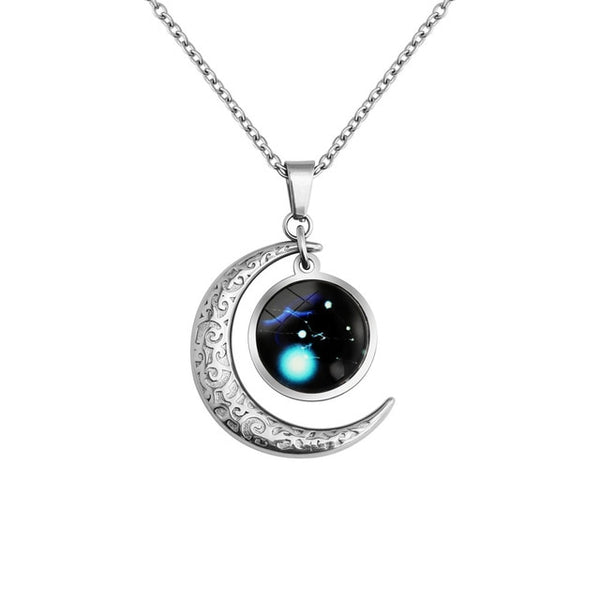 Taurus(April 19 - May 20) - Luminous Constellation necklace
