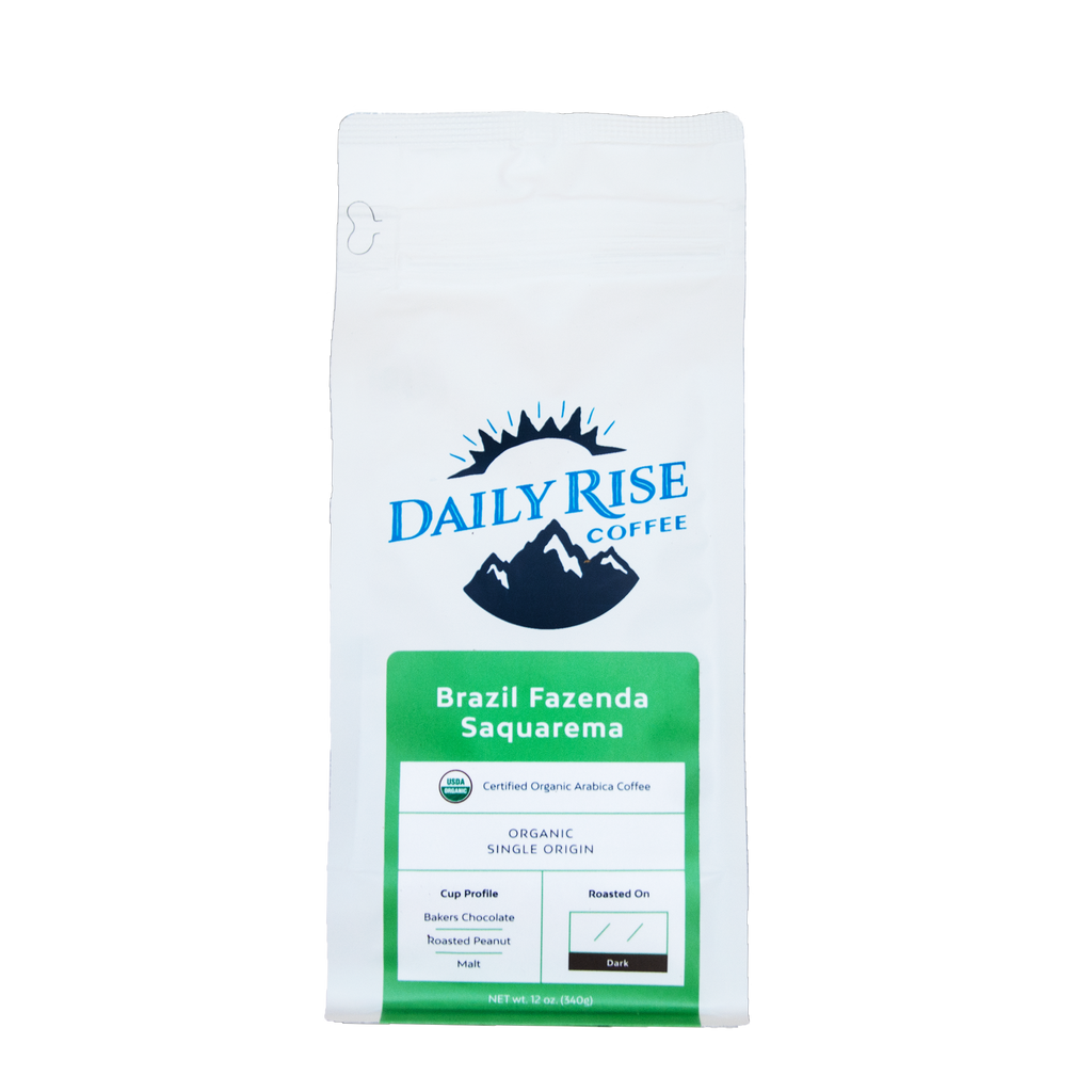 Brazil Fazenda Saquarema - Single Origin - 12 oz. - Daily Rise Coffee