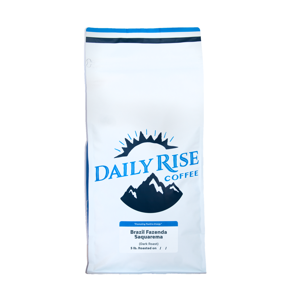Brazil Fazenda Saquarema - Single Origin - 5 lb. - Daily Rise Coffee