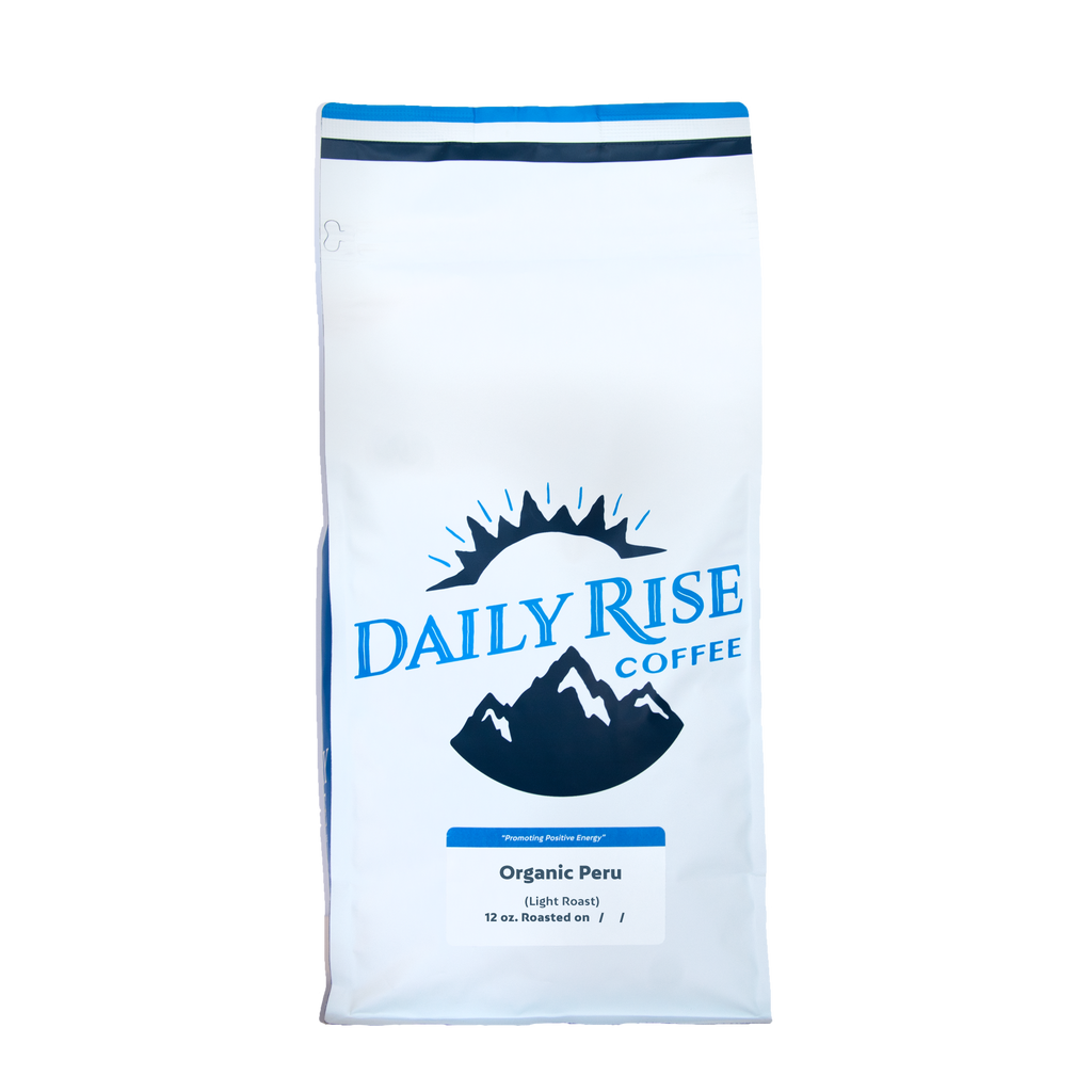 Organic Peru - Single Origin - 5 lb. - Daily Rise Coffee