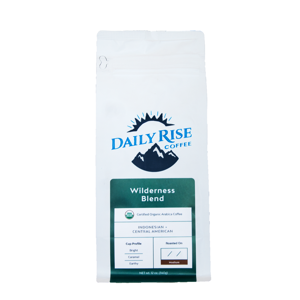 Organic Wilderness Blend - 12 oz. - Daily Rise Coffee