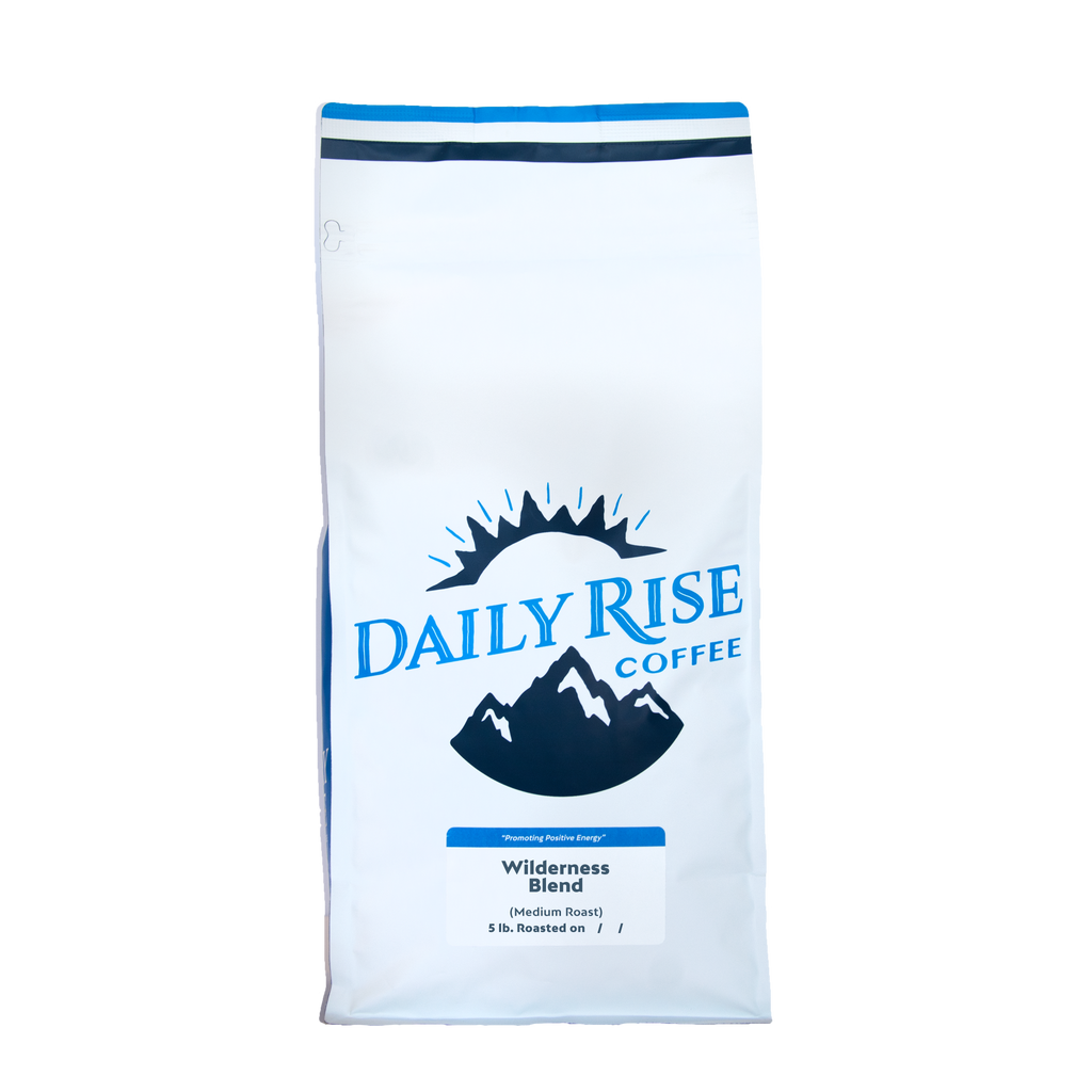 Organic Wilderness Blend - 5 lb. - Daily Rise Coffee