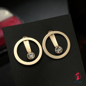 High Quality Simple Circle Earrings by Getitchoosy