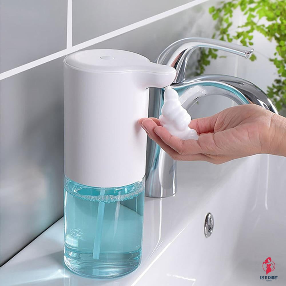 320ml Foam Hand Wash Machine Automatic Foaming Soap Dispenser Smart Sensor Touchless Hand Washer For Home Restaurant Anti-virus by Getitchoosy
