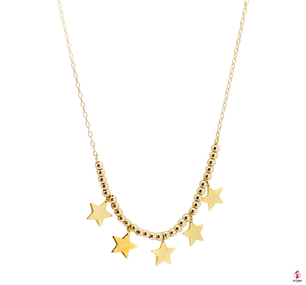 5 Mini Star Chain by Getitchoosy