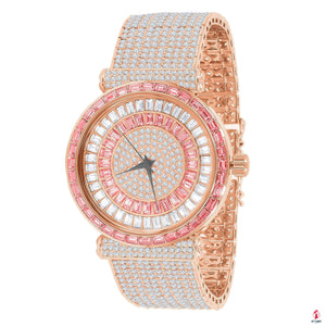 FOXY CZ ICED OUT WATCH by Getitchoosy