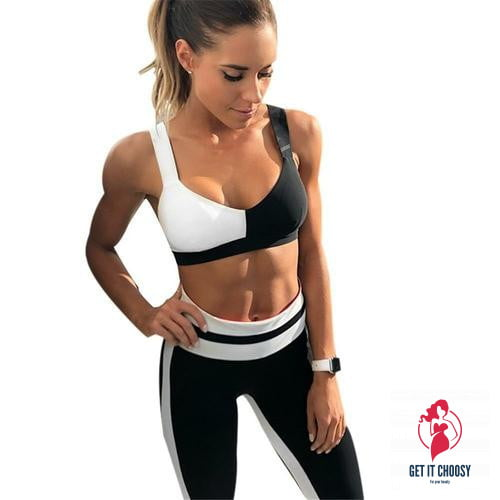 Yoga Suits Women Gym Clothes Fitness Running Tracksuit Sports - Get It Choosy
