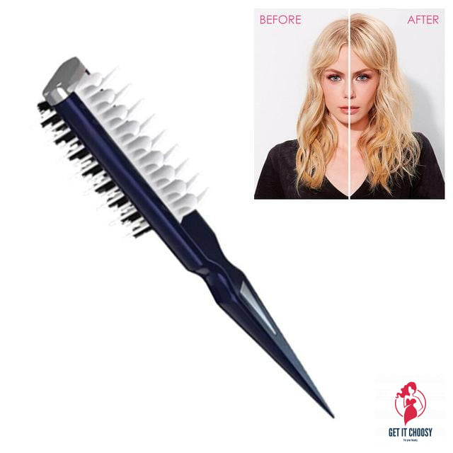Hair Shark Comb Instant Hair Volumizer Professional Portable Combing Brush by Getitchoosy