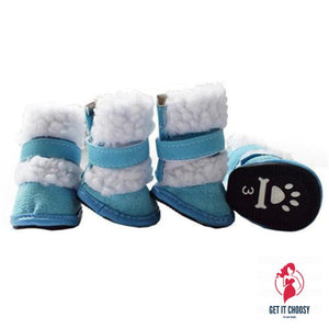 4pcs Set Winter pet dog Snow Boots puppy snowy by Getitchoosy