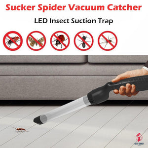 Littel Sucker Spider Vacuum LED Insect Suction Trap Catcher Fly Bugs Buster ultrasonic pest repeller Pest Buster by Getitchoosy