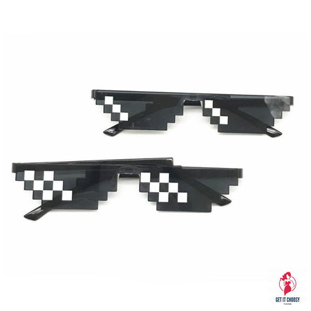MineCrafted Sunglasses Kids cos play action Game Toys Minecrafter Square Glasses with EVA case gifts by Getitchoosy