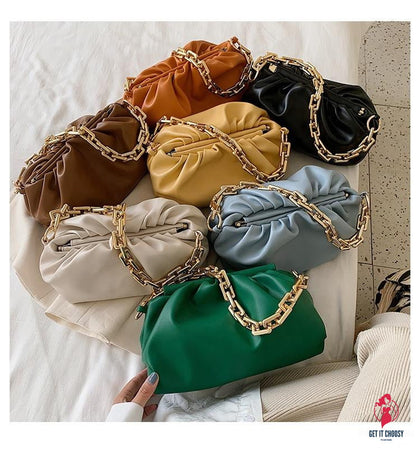 Hick Chain Shoulder Bag For Women Hobos Bag Women Crossbody Bag Luxury Handbags