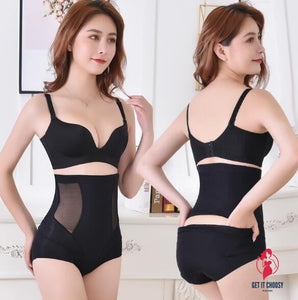 Products Postpartum High Waisted Tuck Pants Thin Corset Buttock Lifting Underwear Women's Pure Cotton End of Body-hugging by Getitchoosy