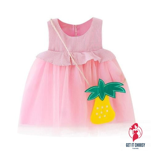 Frilly Summer Girls Dress by Getitchoosy