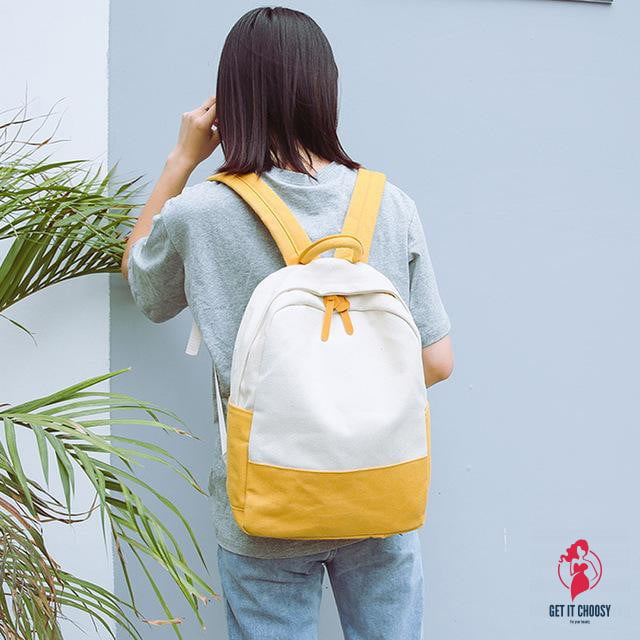 Casual Fashion Women Travel Backpacks Canvas Hit by Getitchoosy