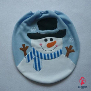 Christmas Decoration Christmas Snowman Lid Single by Getitchoosy