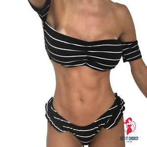 Classical Women Bikini Set Swimwear Push-Up Padded by Getitchoosy