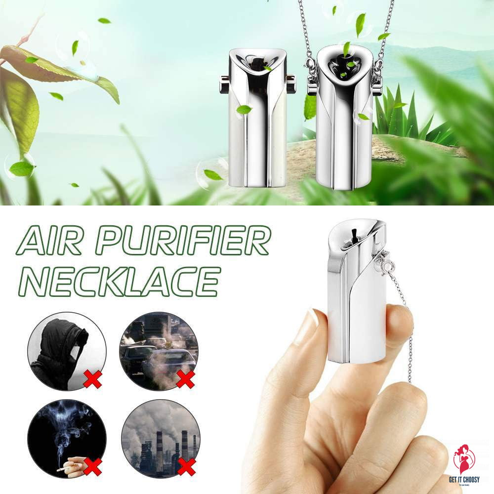 Portable  Air Purifier USB wearable necklace negative ionizer Anion personal  air purifier PM 2.5 cleaner Air Freshener by Getitchoosy