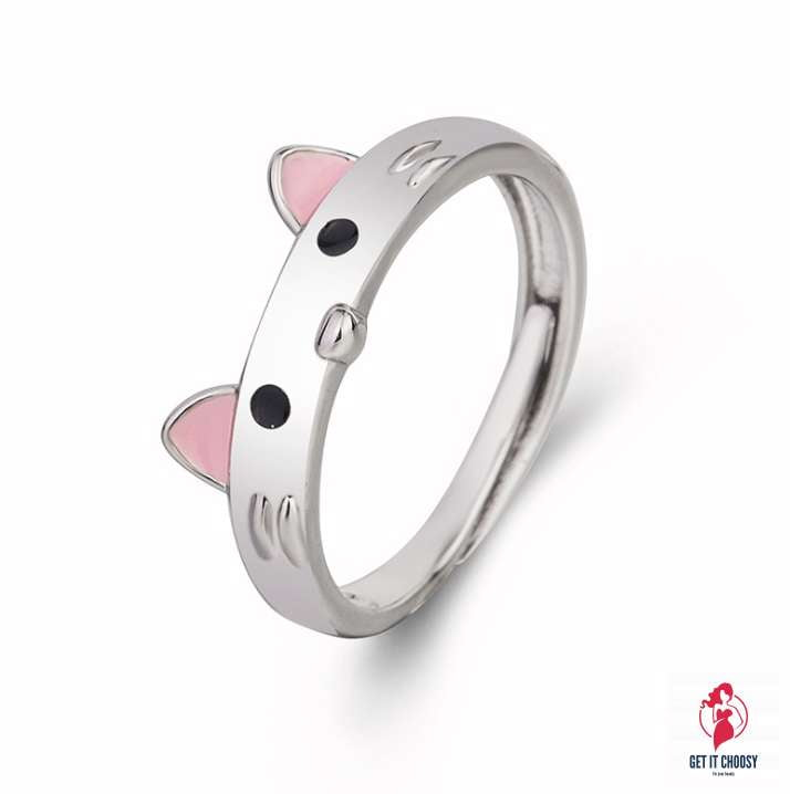 Fashion Little Mouse Ring Temperament Lovely Ring for Girls Open Rings Jewelry by Getitchoosy