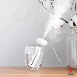 White Dismountable Air Humidifier for Home Office Portable USB Aroma Diffuser Car Mist Maker Ultrasonic Humidifiers Diffusers