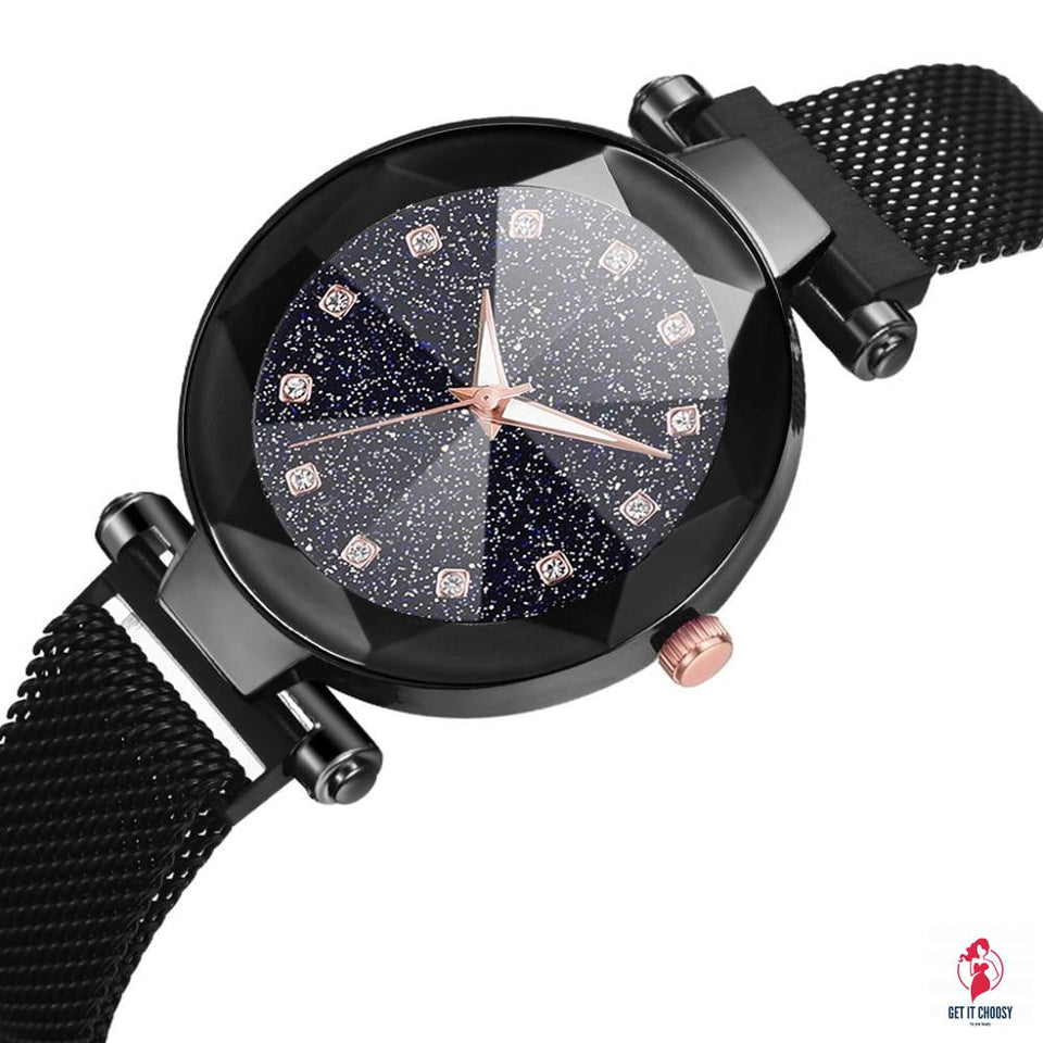 Ladies Magnetic Starry Sky Clock Luxury Women Watches Fashion Diamond Female Quartz Wristwatches Relogio Feminino Zegarek Damski by Getitchoosy