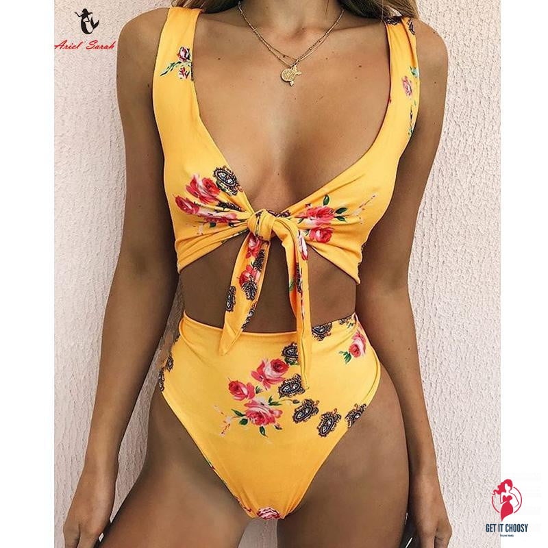 High Waist Bikini Sexy Women Swimsuit Bathing Suit by Getitchoosy