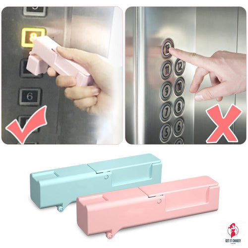 Kid Epidemic Prevention Open Door Disinfectant Tool Press The Elevator Button Artifact Avoid Contacting Tool by Getitchoosy