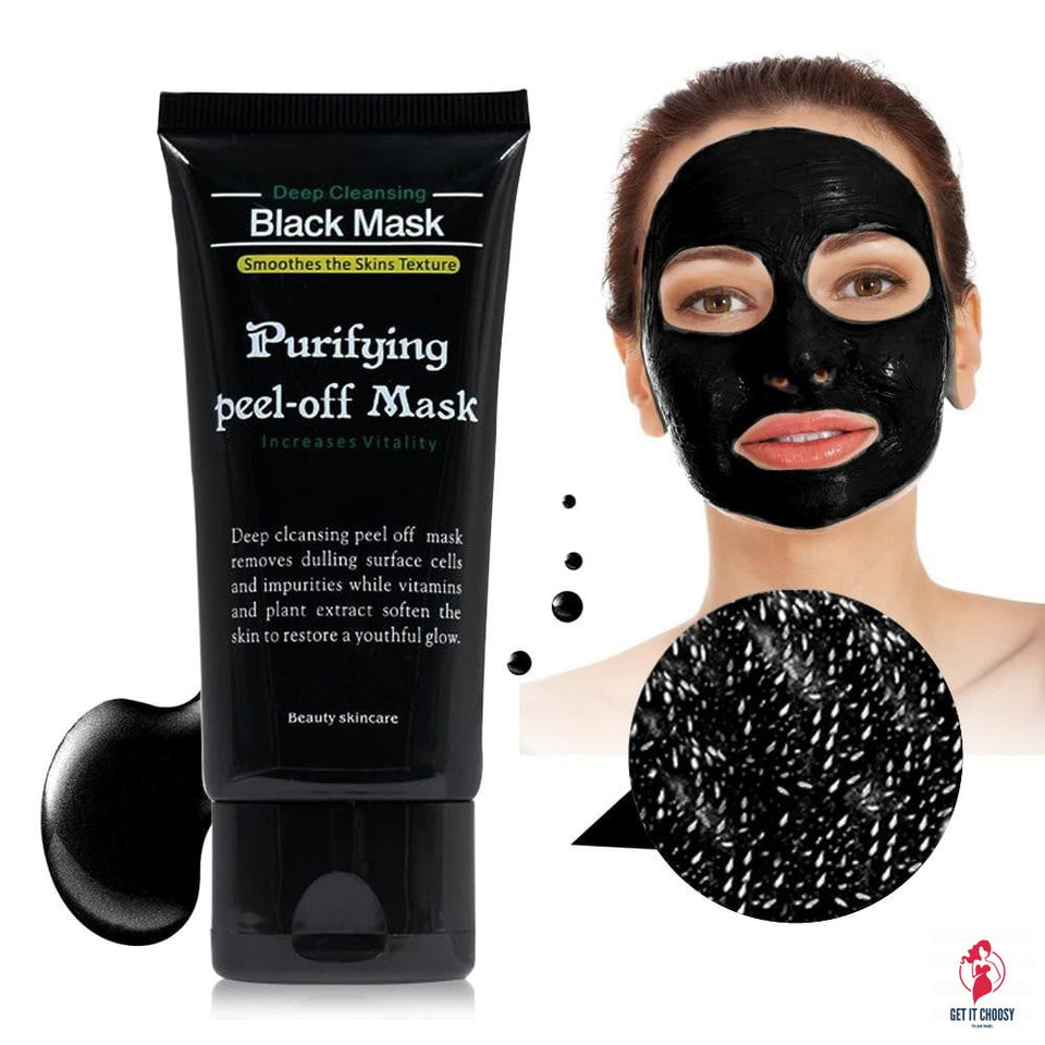 Face Care Black Mud Cleansing Suction Purifying by Getitchoosy