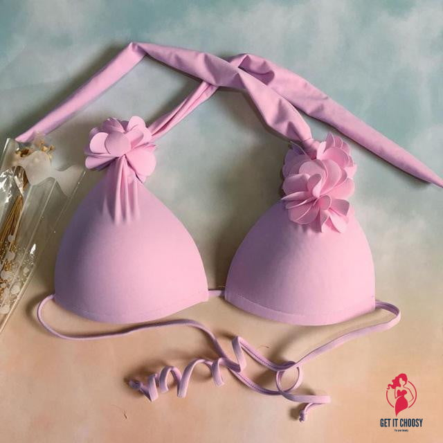 Fancinating Sexy Bikinis Set Women Flower Shape by Getitchoosy
