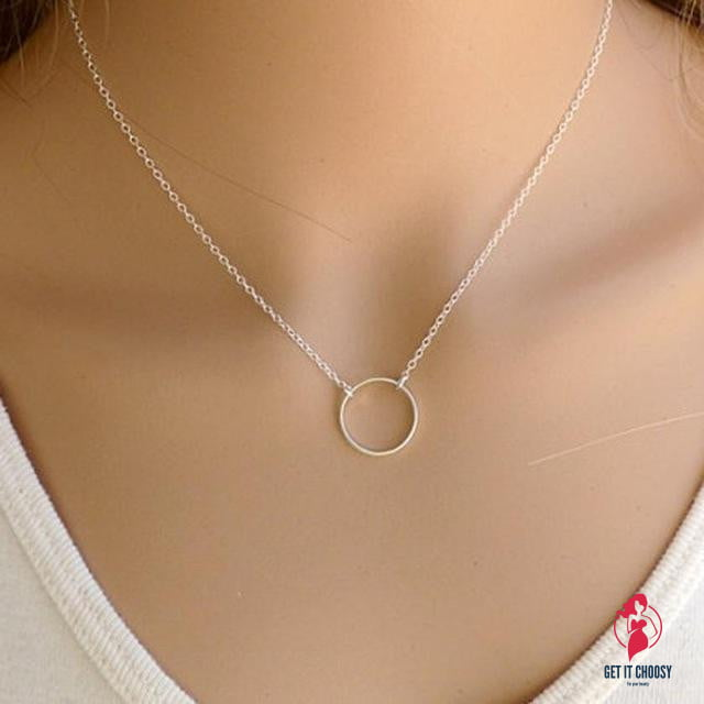 Choker Simple Little Flawless Women Necklace by Getitchoosy