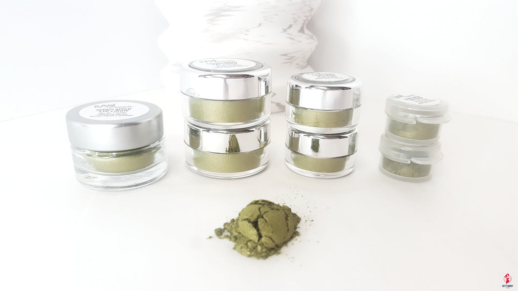 Green Apple Loose Eye shadow | Raw Beauty Minerals by Getitchoosy