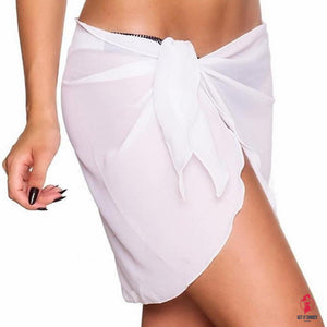 Sexy Women Beach Cover Up Bikini Swimwear Cover up Skirt Dress Swimsuit Wrap Suit