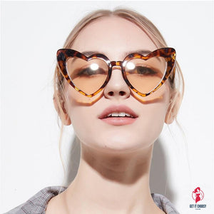 Love Heart Sunglasses Women