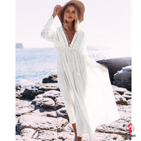 Sexy Long Dress Beach Cover Up by Getitchoosy