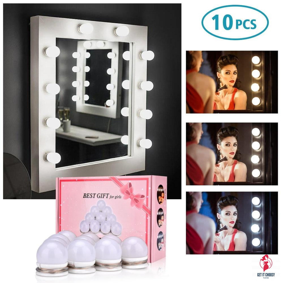 Hollywood LED Makeup Light Bulb Makeup Mirror by Getitchoosy
