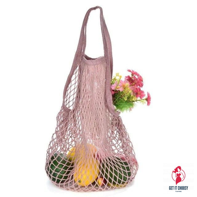 Hot Sale Shopping Bag Women Female  Reusable Fruit by Getitchoosy