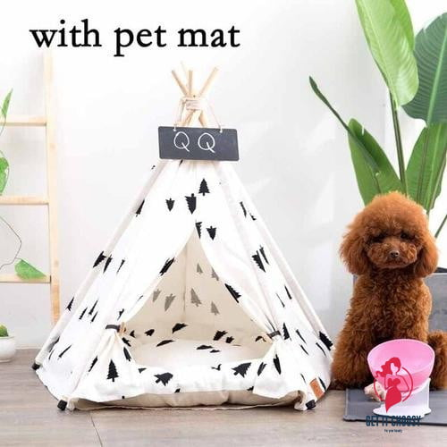 Puppy Teepee Bed by Getitchoosy