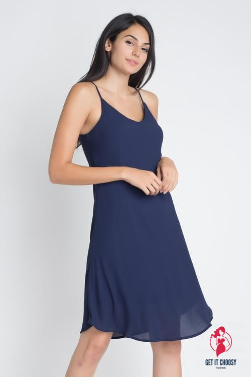 Women's Casual Sleeveless Flowy Dress by Getitchoosy