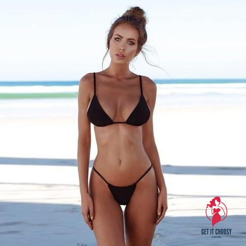 NEW Women Swimwear Bandage Bikini Set Push-up by Getitchoosy
