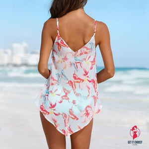 NEW Womens Swimwears 3PCS Tankini Sets Bikini by Getitchoosy